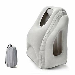 Fitnate Inflatable Travel Pillow Comfortable Full Support He
