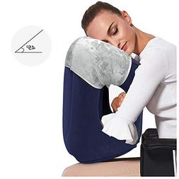 HAIYANLE,Inflatable Travel Pillow, Airplane Pillow 2019 New