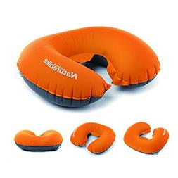 VOIMAKAS Inflatable U Shape Neck Pillow, Portable Travel Blo