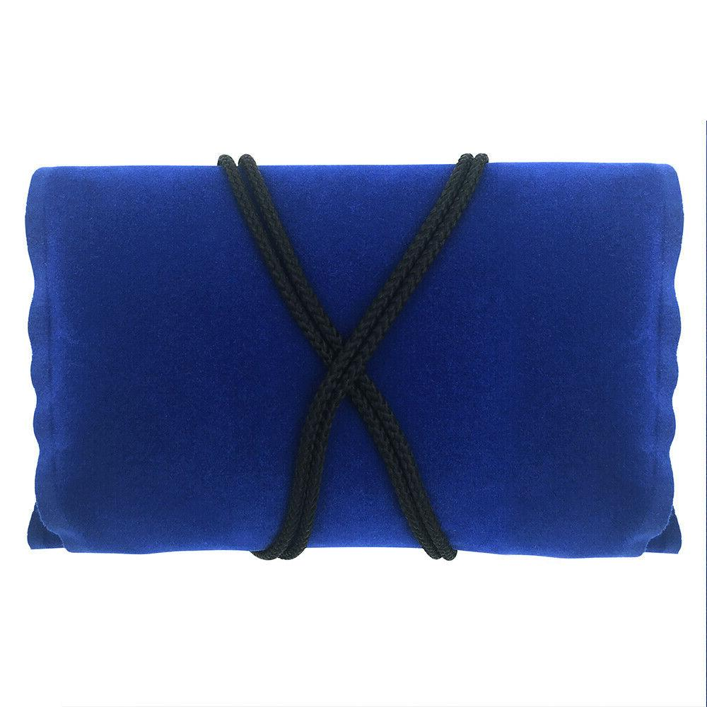 2PACK Blue Travel Comfortable Pillow for Cars