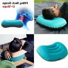 Inflatable Air Pillow Bed Cushion Travel Hiking Camping Wate