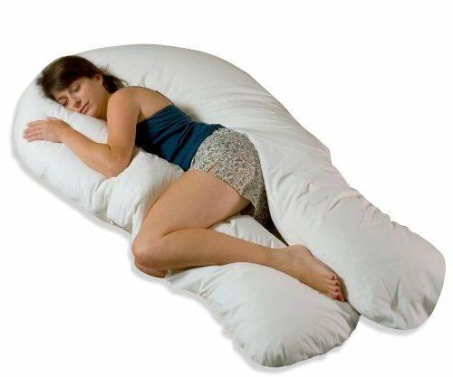 Moonlight Slumber Comfort-U Total Body Support Pillow