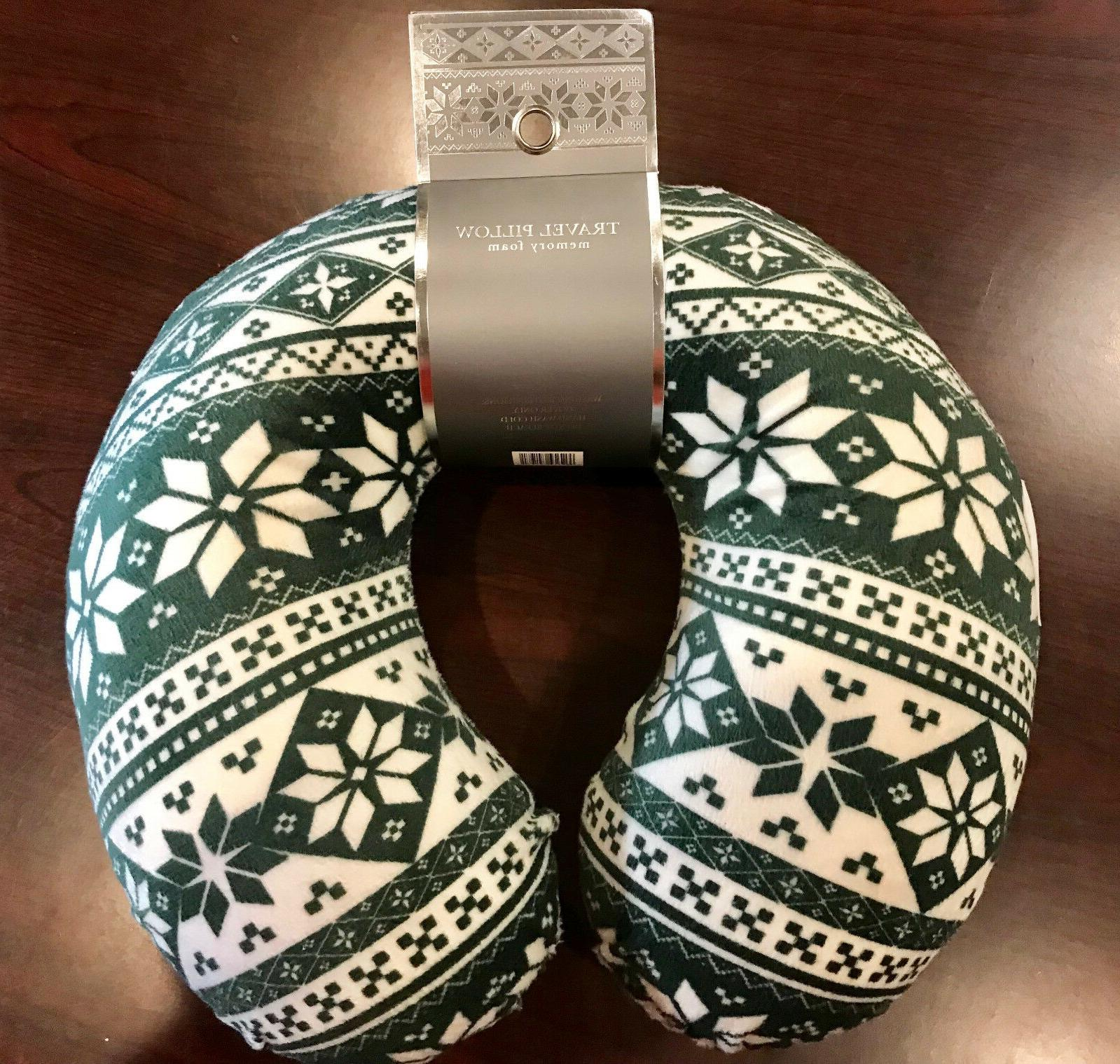 Northpoint NORDIC Memory Foam Neck Travel Pillow, Super Soft