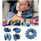 Total Travel Pillow Twist Neck Back Head Cushion Comfort Mas