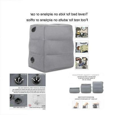 Travel Home & Kitchen Features Foot Rest Pillow, Inflatable
