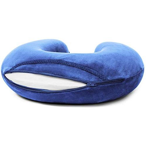 Travelrest - Therapeutic Memory Foam Travel Neck Pillow - To Neck Head