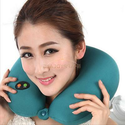 U-shaped Ergonomic Home Travel Neck Head Rest Massage Pillow