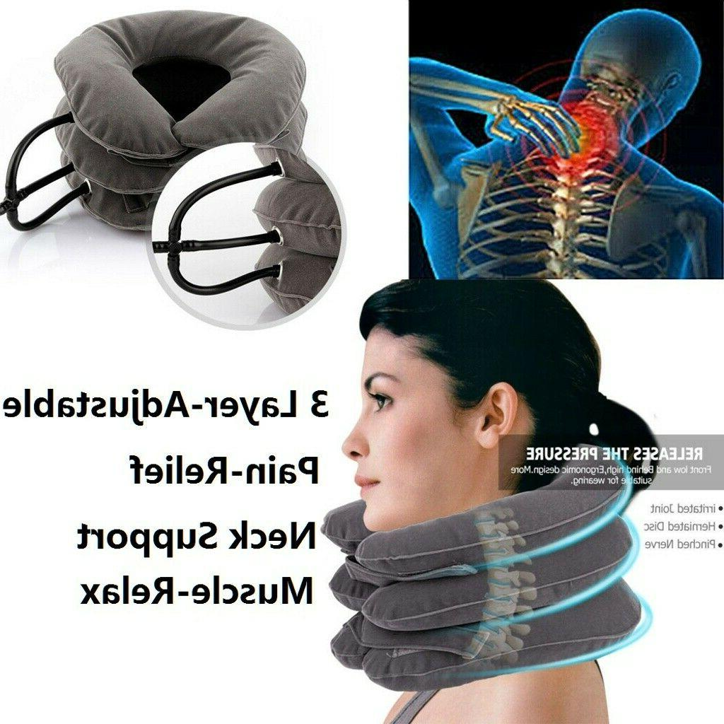 Air Neck Pain Traction Support Brace