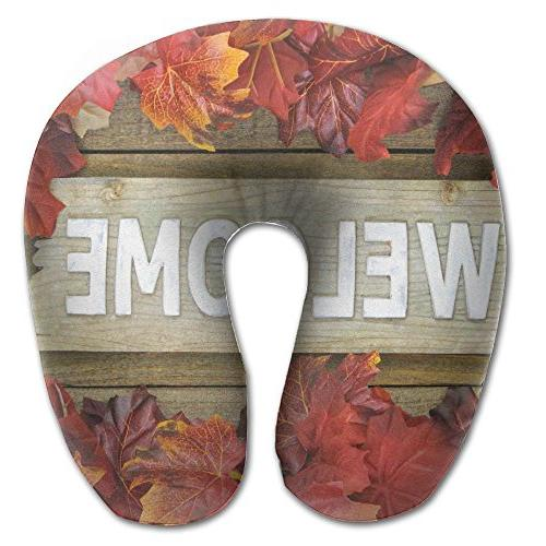 autumn leaves logs memory foam