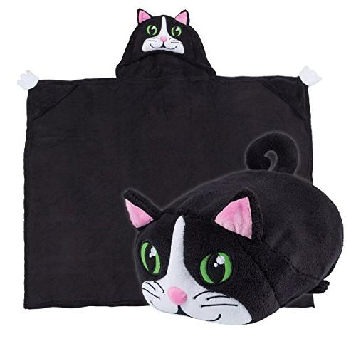 Comfy Critters Blanket - Chloe the Cat
