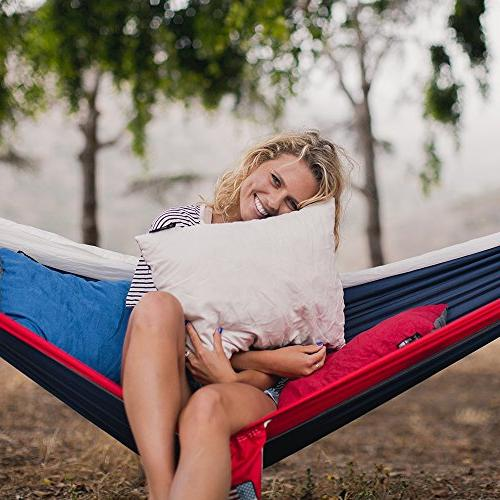 Wise Owl Outfitters Camping Pillow Compressible Pillows – When Sleeping in Car, Hammock & – - Compact & Large Size -