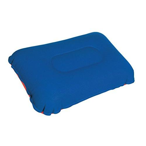 camping pillow inflatable fabric feel