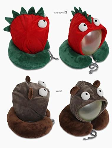 character neck support cushion pillow