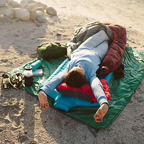 Therm-a-Rest Travel Pillow for Camping, and Road Denim, Medium: