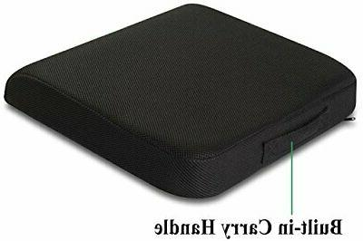 TravelMate Extra-Large Memory Foam Seat – for Chair and W