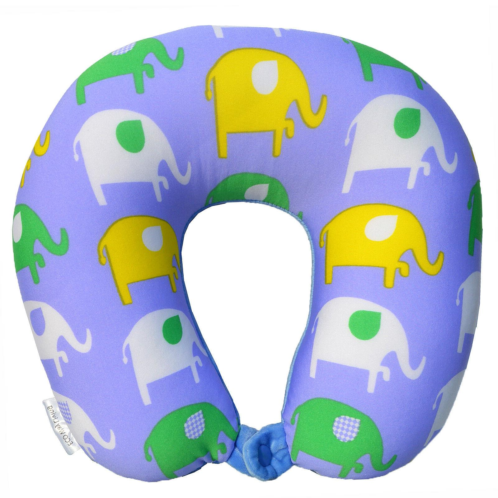 Travel Neck Pillow Micro Bead Soft Light U Shaped Car Head R
