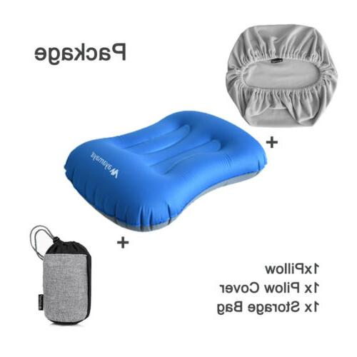 Inflatable Air Camping/Travel Ultralight Backpacking w Cover