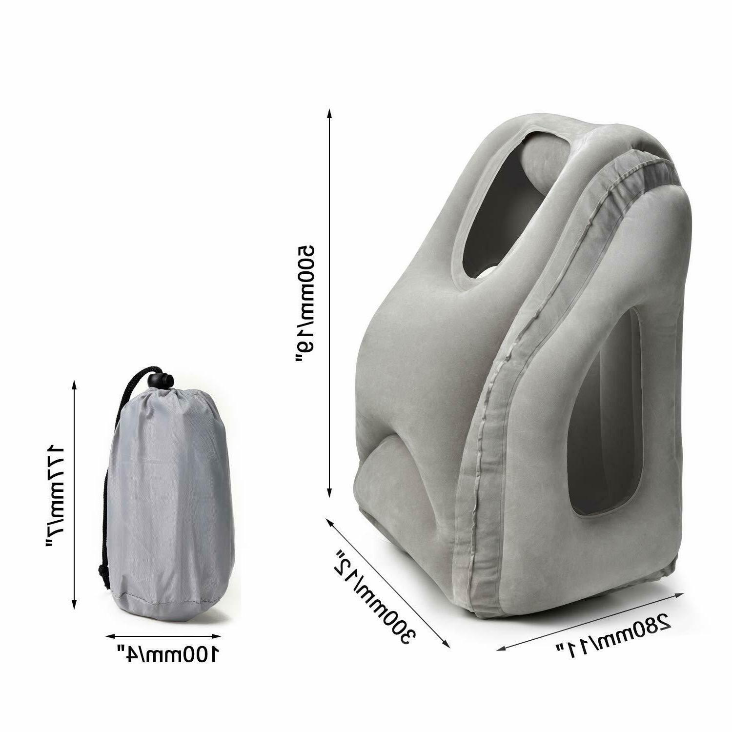 Inflatable Airplane Neck Cushion New