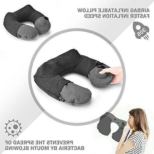 KMALL Pillows Travel With Comfort Pillow Case