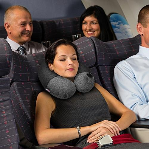 KMALL Travel Pillows for With Super Comfort Washable Pillow