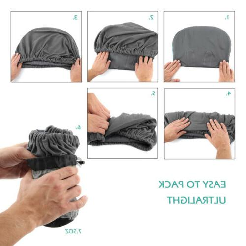 Inflatable Camping Pillow Cover Travel Hiking