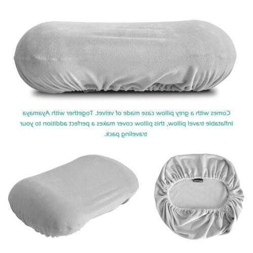 Inflatable Pillow Cover Travel