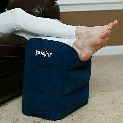 Inflatable Travel Foot for Airplanes/Cars/Home/Office