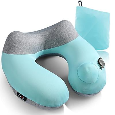 Inflatable Travel Pillow,Kmall Compact Travel Pillows for Ai