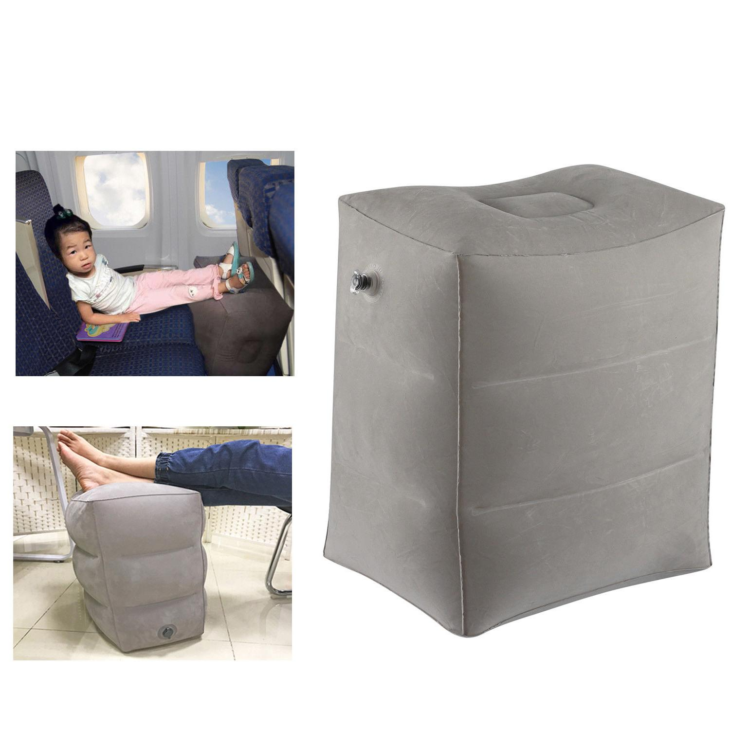 Inflatable Travel Pillow Foot/Leg Rest Pillow For Kid's Bed