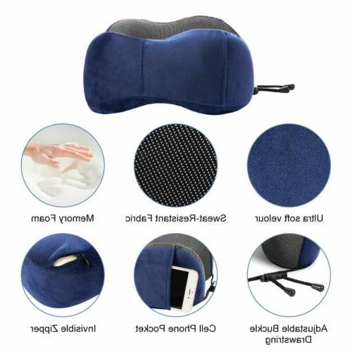 Memory U-shaped Pillow Neck Head Rest Soft Cushion