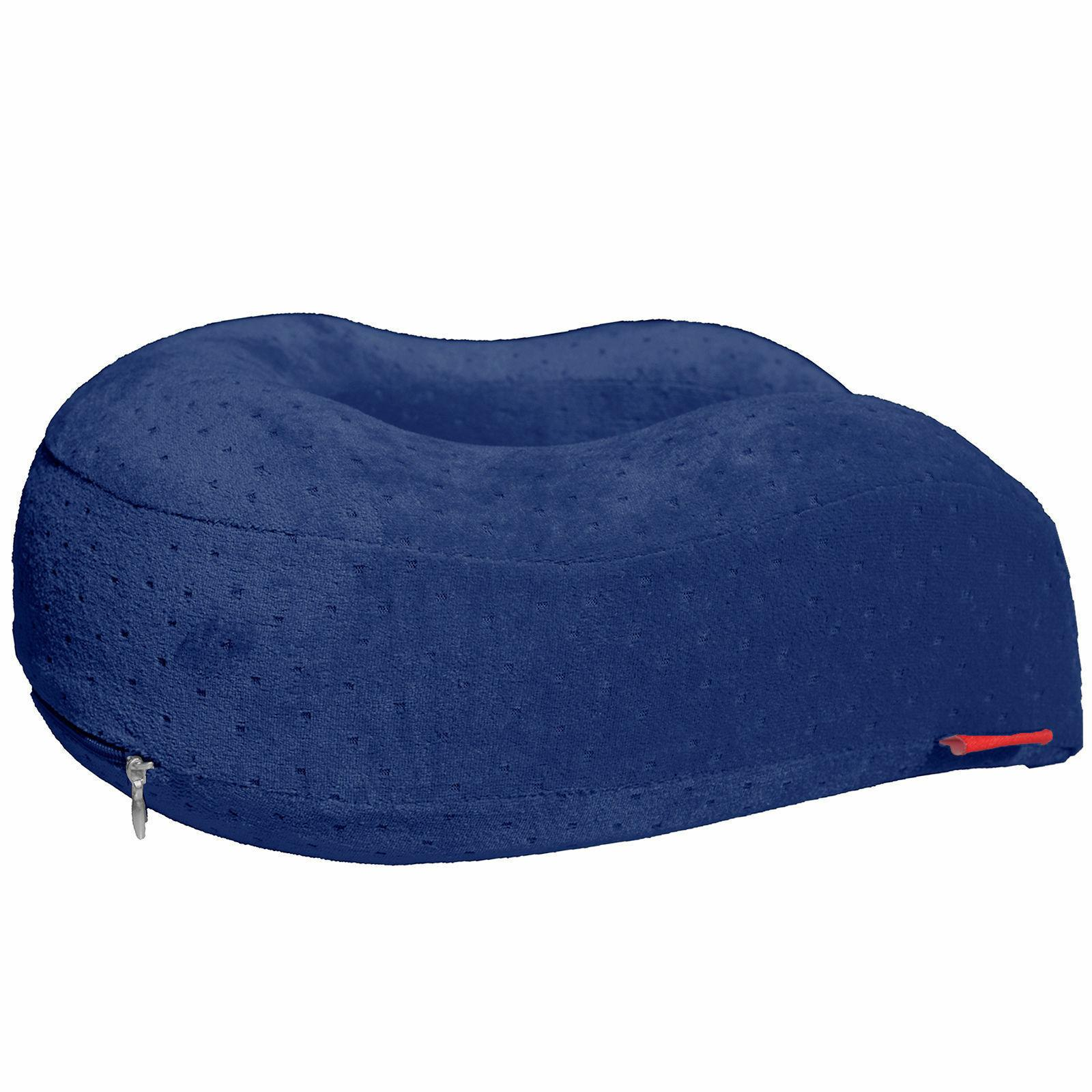Navy Therapeutic Comfort Travel Pillow