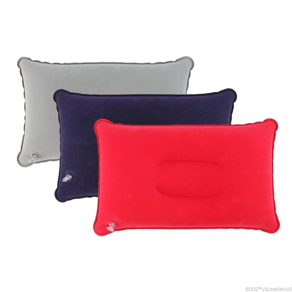 Outdoor Pillows Inflatable Pillow Cushion Beach Car Plane Sleep