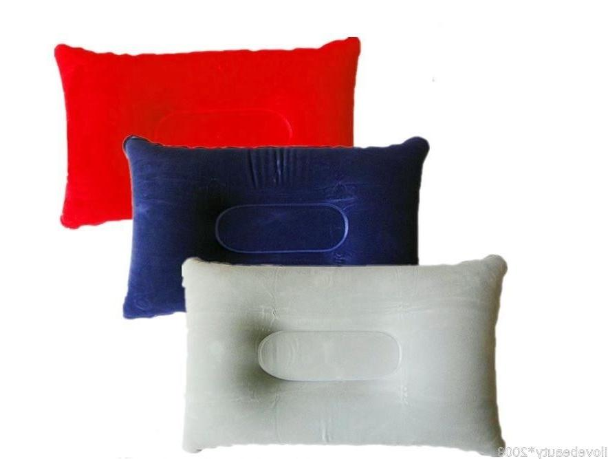 outdoor travel pillows air inflatable pillow cushion