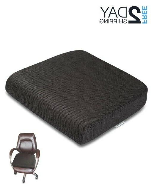 Pillow Seat Cushion Memory Foam Large Chair Pain Relief Offi