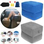 Portable Car Airplane Inflatable Travel Footrest Relex Sleep