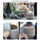 portable inflatable travel footrest leg foot rest