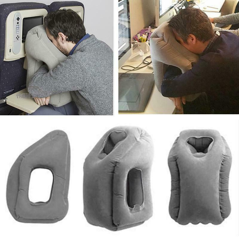 Portable Inflatable Airplane Cushion Office Neck
