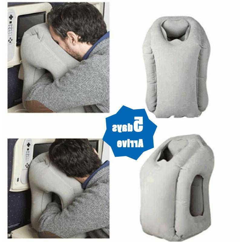 Portable Inflatable Airplane Cushion Office Nap Neck