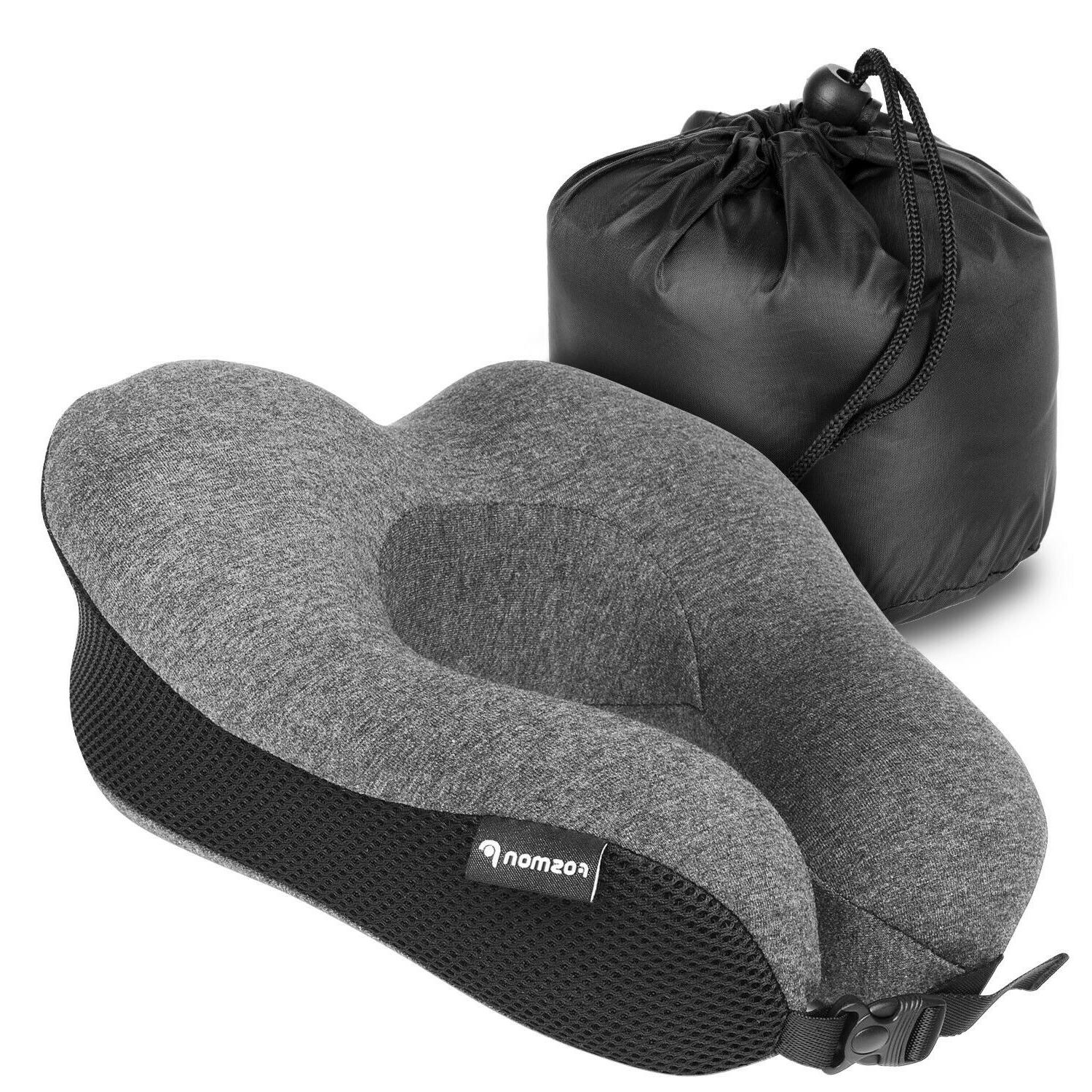 Memory Foam U Shaped Travel Pillow Head Car Soft