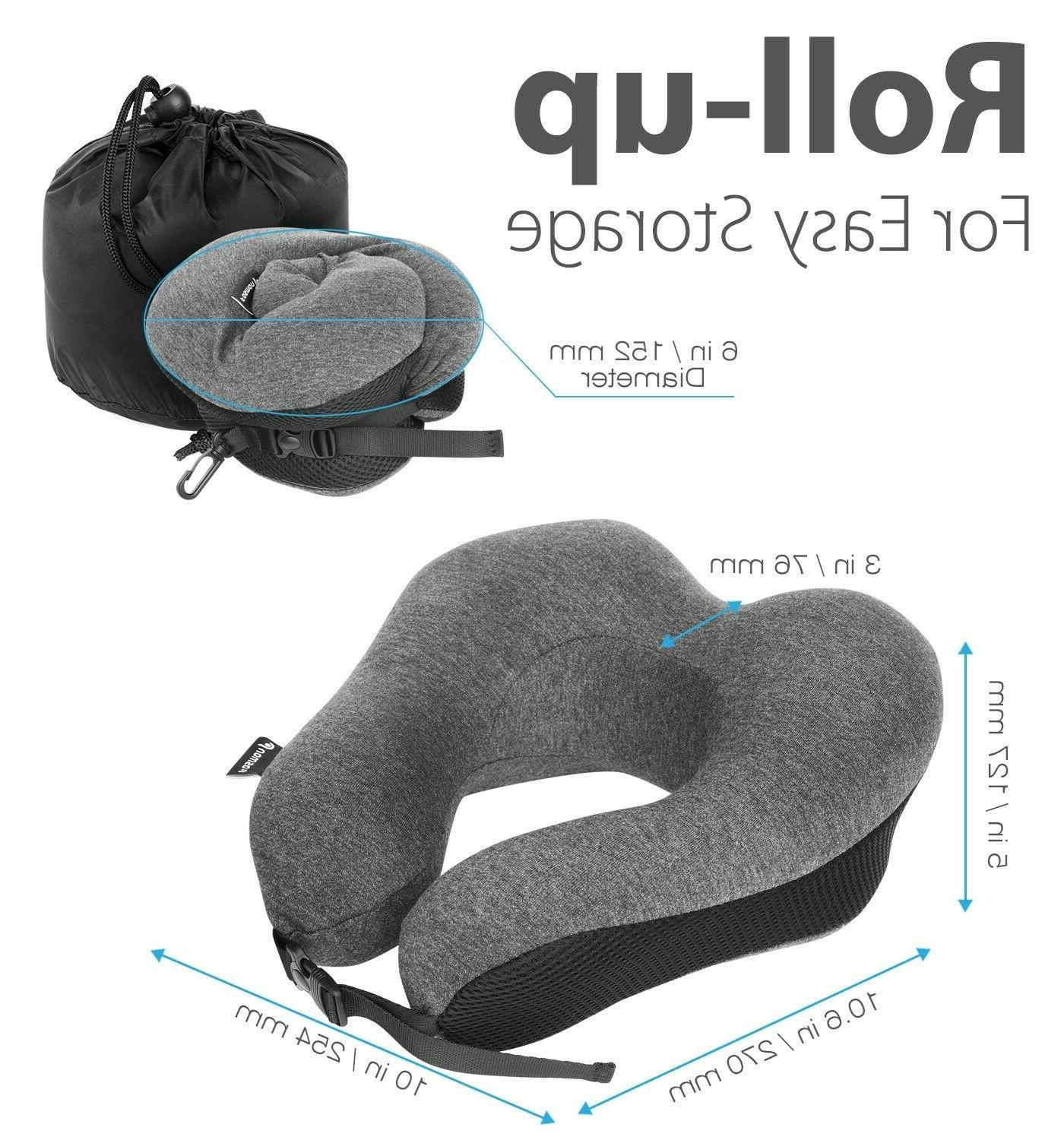 Travel Pillow Support Head Car Plane Soft