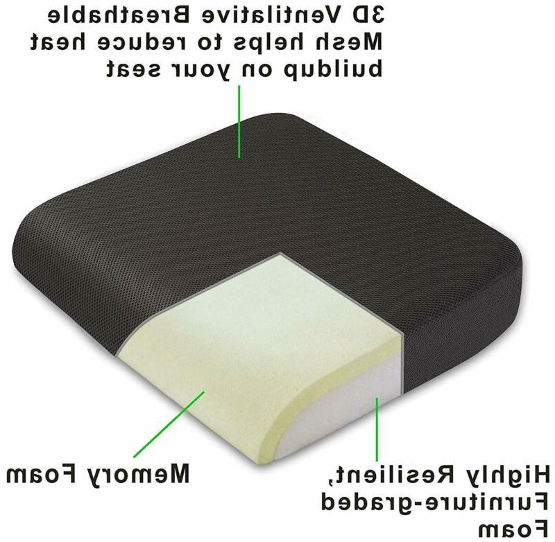 Seat Pillow Foam Large Chair Relief Car