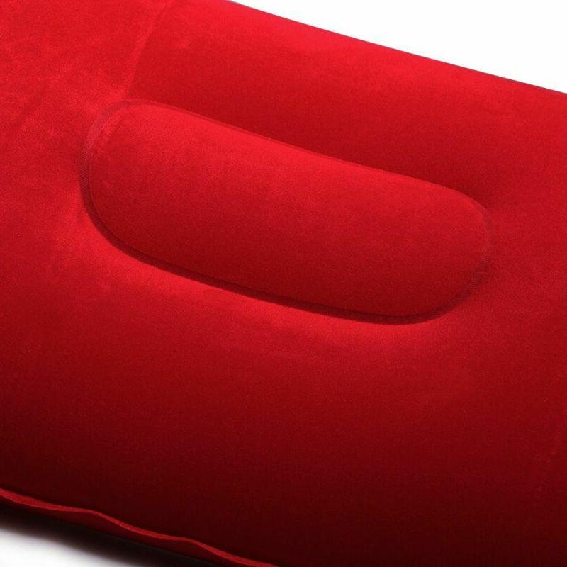 Sided Plane Hotel Air Inflatable Flocking Cushion