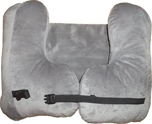 NEW!! SNUG Pillow- L-Shaped, Filled Bag, Eye