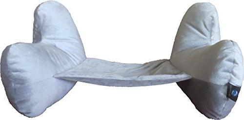 Pillow- Two L-Shaped, Fiber Filled Head Eye Mask