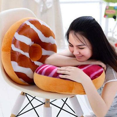 super soft cartoon donut pillows car sofa