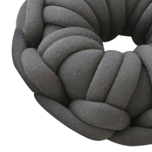 Throw Pillow Reading Game TV Office Travel Grey 1
