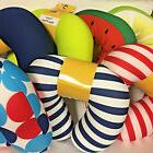 travel neck pillow assorted colors and designs