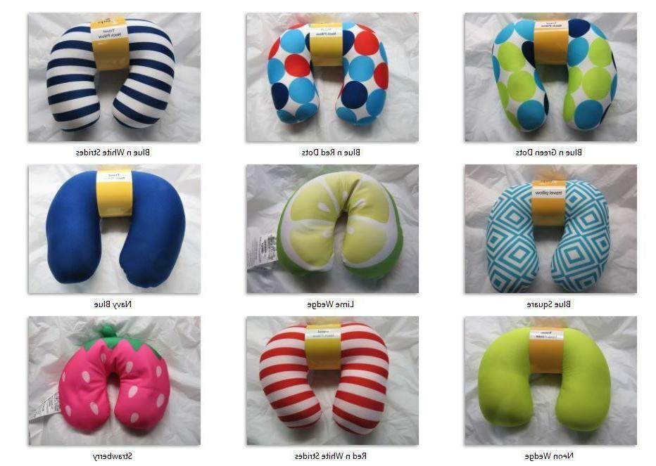 travel neck pillow your choice colors designs
