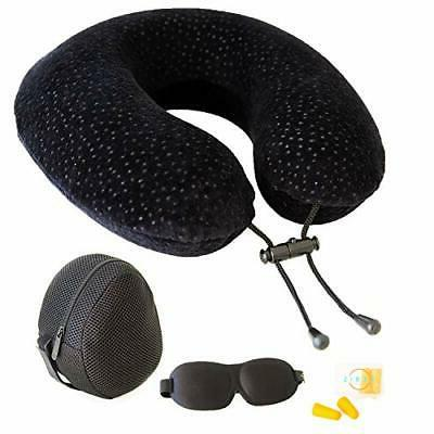memory foam travel pillow for airplanes best