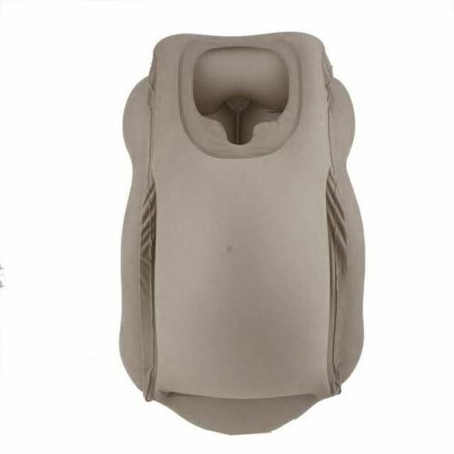 Travel pillow air back support